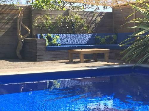Loue maison de vacance proche de la mer avec piscine, 8couchages, Anglet (64)