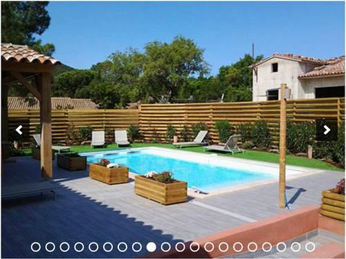 Loue maison de vacances, 10couchages, 3chambres, Corse du Sud, Pinarello