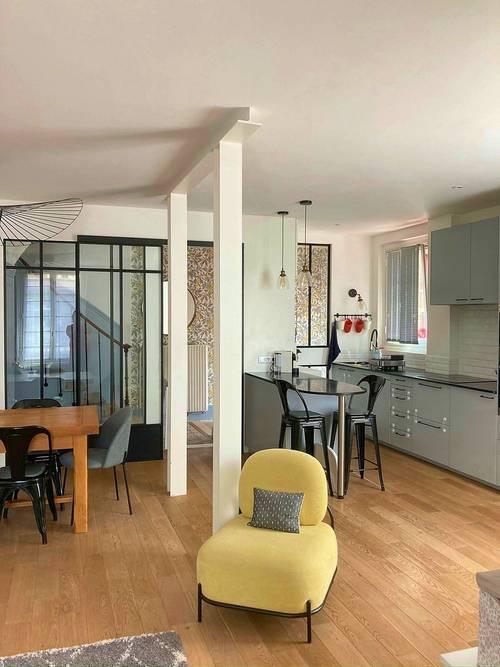 Vends Maison de ville + double parking à Montrouge (92) - 129m²