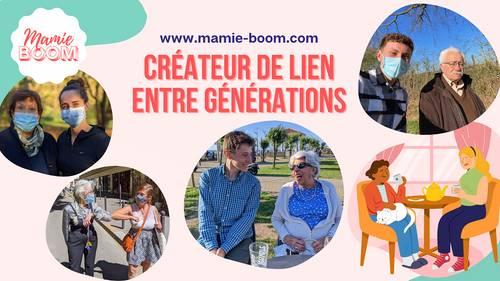 Mamie-Boom propose compagnie dynamisante aux personnes âgées à Lyon