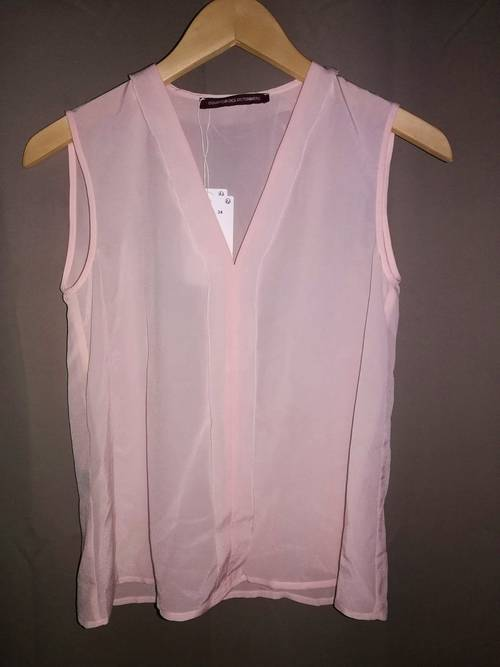 Top sans manche Cloud Pink Ganet - taille 34- Neuf