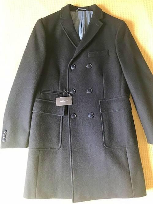 Manteau croisé bleu marine Emile Lafaurie neuf taille 48