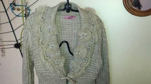 Manteau en lainage taille 42