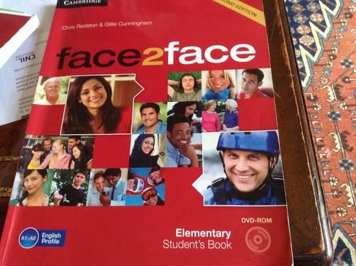 Manuel anglais student's Face2Face