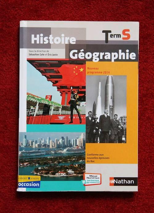 Manuel d'histoire-géographie TS