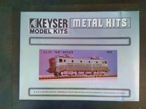 """Modélisme: kit maquette pour locomotive CL 25 """"BB"""" 9003-4- HO"""
