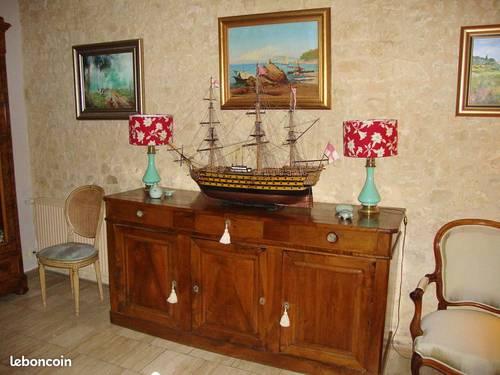 Une maquette du HMS Victory