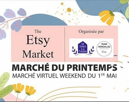 Marché virtuels de créateurs à Versailles