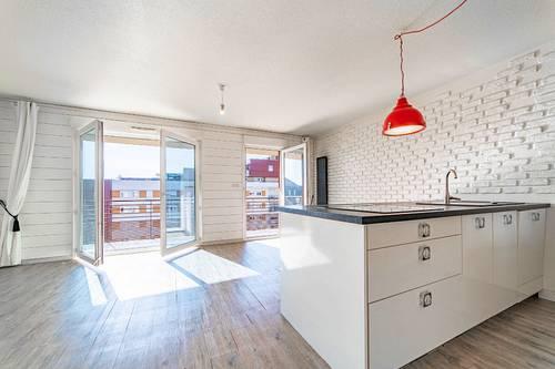 Vends appartement 68.90m² avec balcon 10,60m² - Port Marianne Montpellier (34)