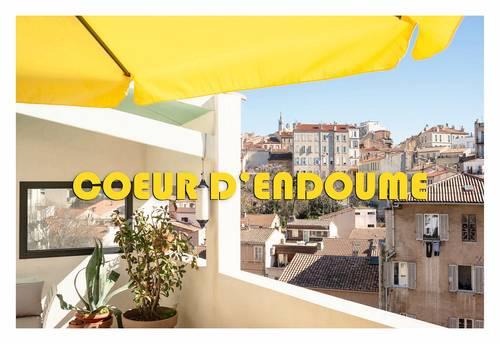 Loue Marseille Coeur d'Endoumes, 10min de la mer 6couchages