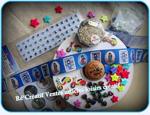 Matériels et accessoires de loisirs créatif