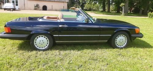 Mercedes 560sl cabriolet décapotable collection 1987