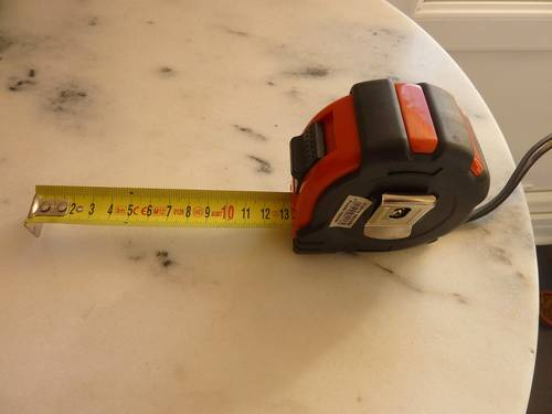Mètre ruban 8mètres