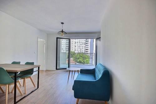 Loue bail meublé-appartement neuf -st ouen 2chambres terrasse