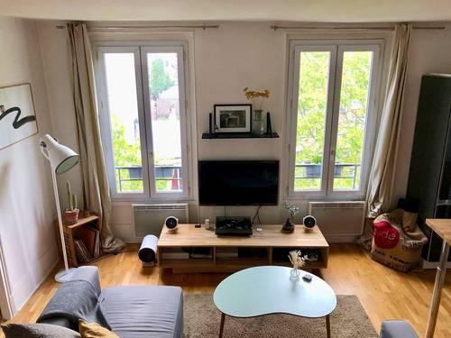 Loue T2Meublé 42m² Boulogne Nord Métro Jean Jaurès