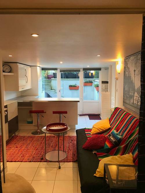 Loue appartement meublé dans maison individuelle - 1chambre, 35m², Rouen (76)