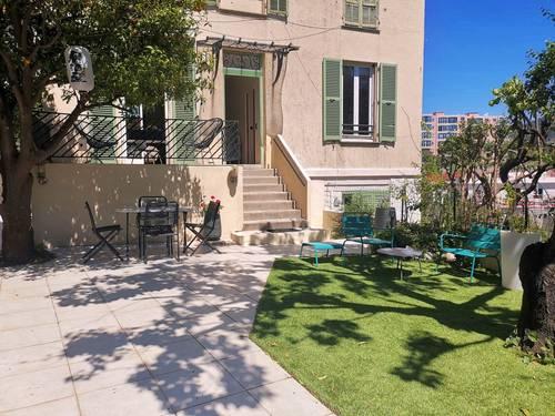 Loue T472m² meublé à NICE quartier CIMIEZ-Terrasse & Jardin