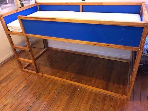 Lit mezzanine enfant Ikea
