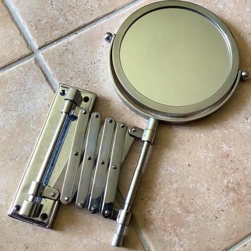 Miroir extensible grossissant