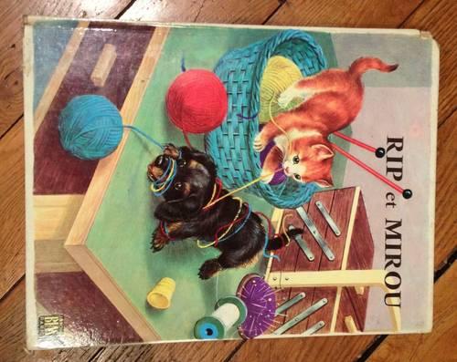 Vends livre Rip et mirou de Janivon éditions BIAS 1963