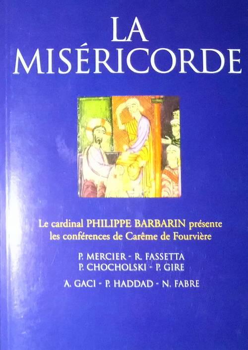 """Livre """"La Miséricorde"""""""