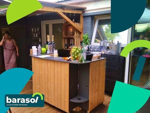 Le Barasol: Un bar mobile et personnalisable pour vos évènements