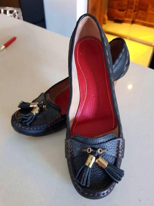 Mocassins noirs - Pointure 35