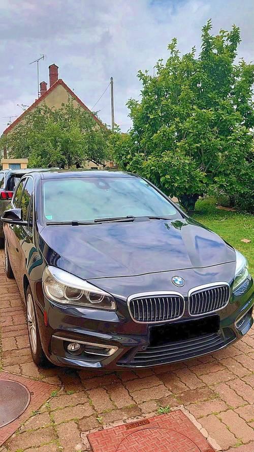 Monospace compact BMW série 2active tourer 218D Luxury - 96000km - 2015