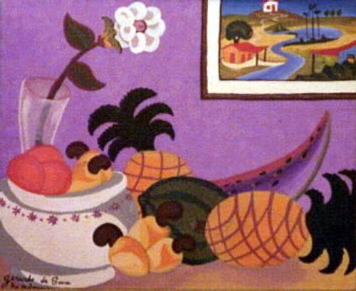 Nature morte ananas - Gerardo DE SOUZA