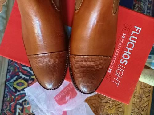 Boots Neuves Homme cuir Fluchos Light Comfort X2T. 42