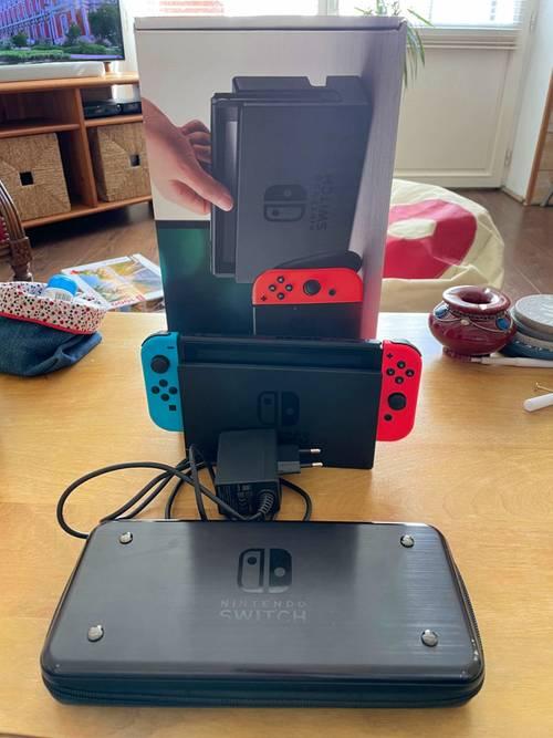 Nintendo Switch + jeux