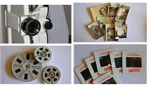 Numérisation sur DVD de vieux films 8mm, cassettes ou diapositives