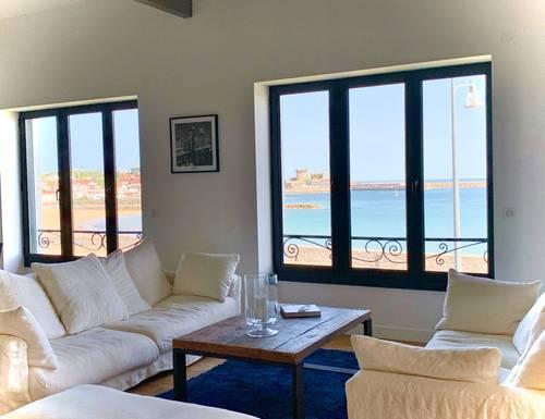 Loue face à l'océan appartement avec jardin 10couchages - Saint-Jean-de-Luz (64)