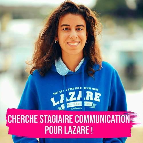 Recrute Assistant Chef de Projet Communication Lazare