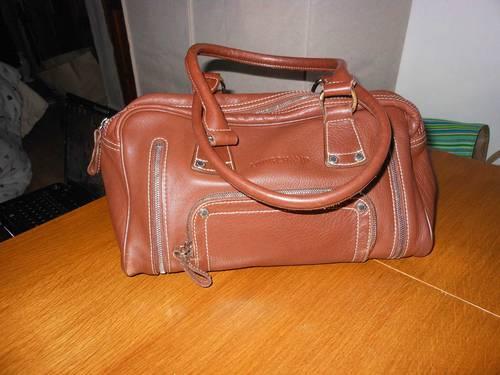 Original sac Longchamp en veau foulonné