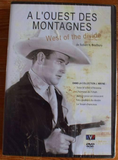 DVD a l'ouest des montagnes neuf