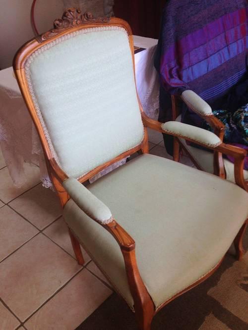 Paire fauteuil Régence