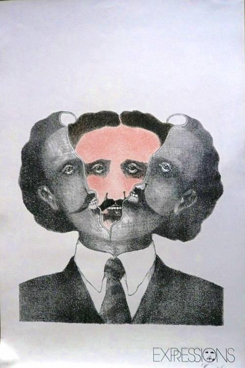 Paire de lithographie par Patrice Goichon