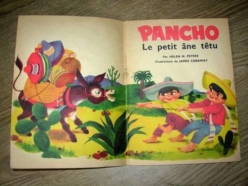 Pancho le petit âne tétu
