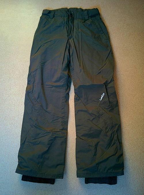 Pantalon de ski Wed'ze gris anthracite