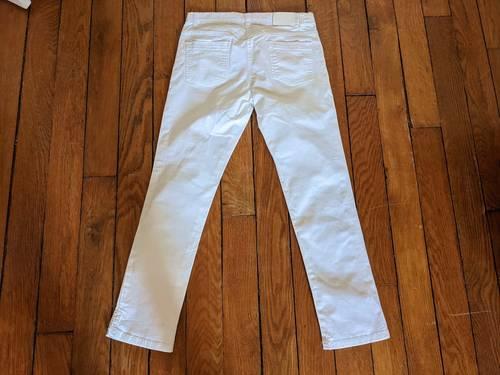 Pantalon Blanc DPAM fille 12ans