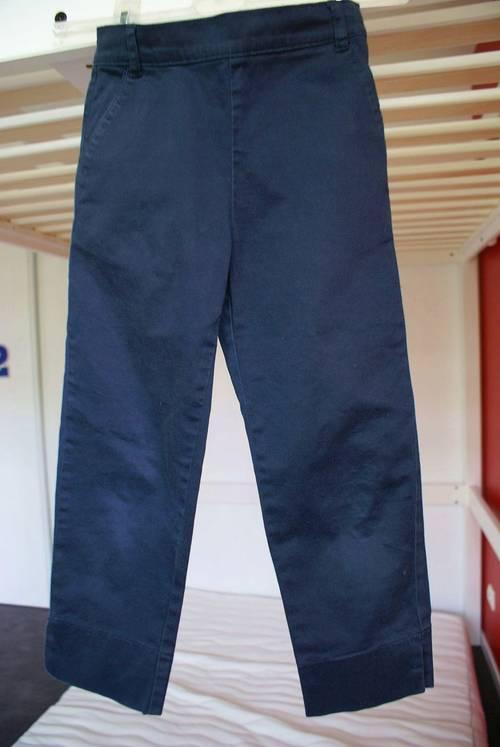 "Pantalon coupe ""Cigarette"" bleu marine Cyrillus"