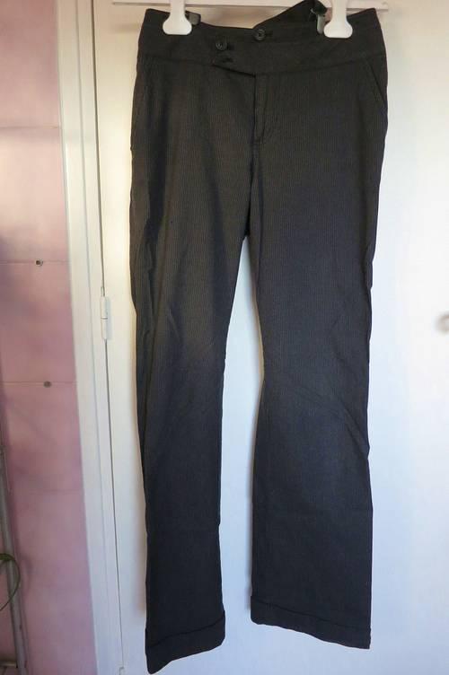 Pantalon à rayures t36MEXX
