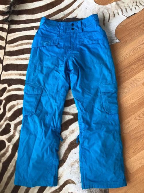 Pantalon snowboard Oxbow taille S bleu
