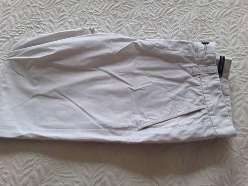 Pantalon toile Monoprix homme beige clair T42