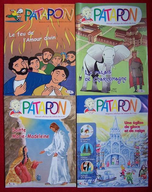 Lot de 4Patapon - Pierre Tequi (bon état)