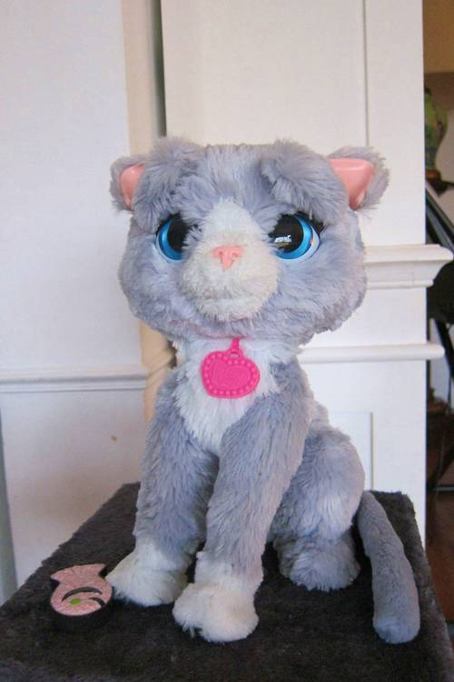 """Peluches interactives - """"Mon chat"""""""