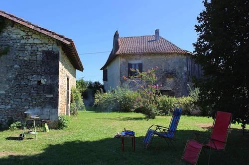 Loue Périgord blanc maison ancienne 5couchages