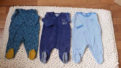Petit Bateau pyjama garçon 3mois