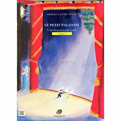 Le Petit Paganini, vol. 2manuel pour violon débutants